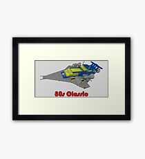 More 80s Classic Space Lego Framed Print