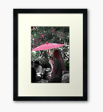 A Study in Scarlet Framed Print