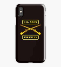 Army Infantry T-Shirt iPhone Case