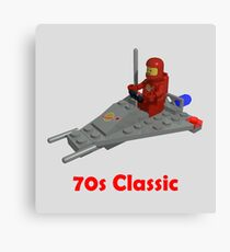70s Classic Space Lego Canvas Print