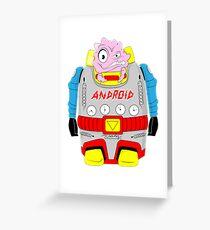 Atomic Krang Greeting Card