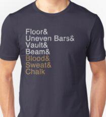 Women's Gymnastics Events Unisex T-Shirt