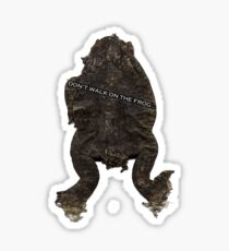 Trash the Frog Sticker