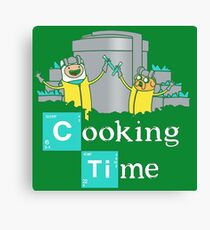 Adventure Time Cooking Time Canvas Print