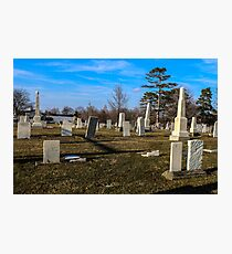 Strongsville Cemetery Photographic Print
