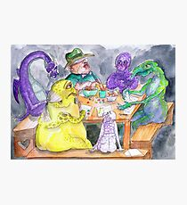 The roleplaying session Photographic Print