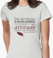 The Problem Womens Fitted T-Shirt