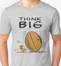 Woodstock Peanuts Think Big T-Shirt