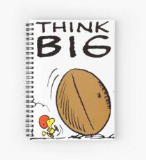 Woodstock Peanuts Think Big Spiral Notebook