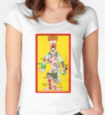 Beaker Operation Women's Fitted Scoop T-Shirt