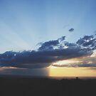 Here comes the rain... by NinaJoan