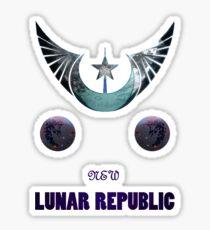 New Lunar Republic Sticker