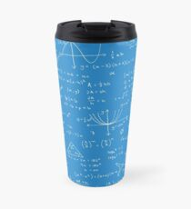 Algebra Math Sheet 2 Travel Mug