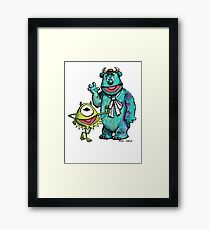 Muppets Inc. Framed Print