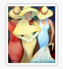 THREE LADIES Sticker