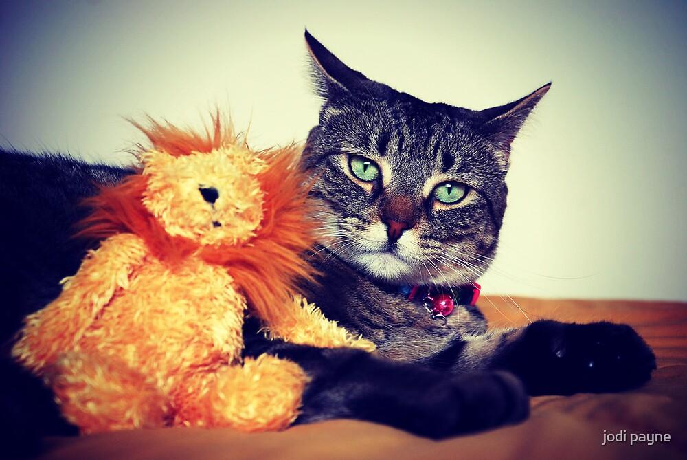 Tasha & Her Lion by jodi payne