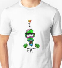 i-brow design: ( i-eat ) Unisex T-Shirt