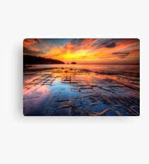 The Tessellated Pavement Canvas Print
