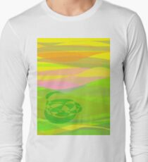 Green Basket Long Sleeve T-Shirt