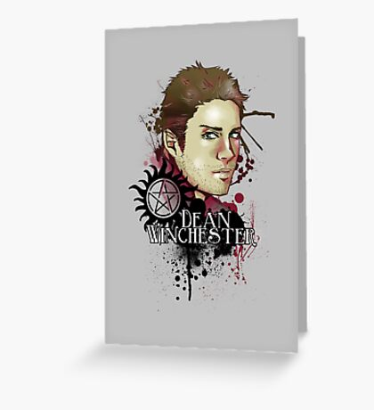 Dean - comic Greeting Card