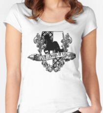 Evil League of Evil Black Women's Fitted Scoop T-Shirt