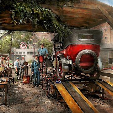 Car Mechanic - Annual checkup 1924 by mikesavad