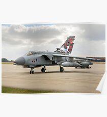 Dambusters Tornado GR.4 ZA412 taxies out Poster