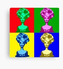 Doll Warhol Canvas Print