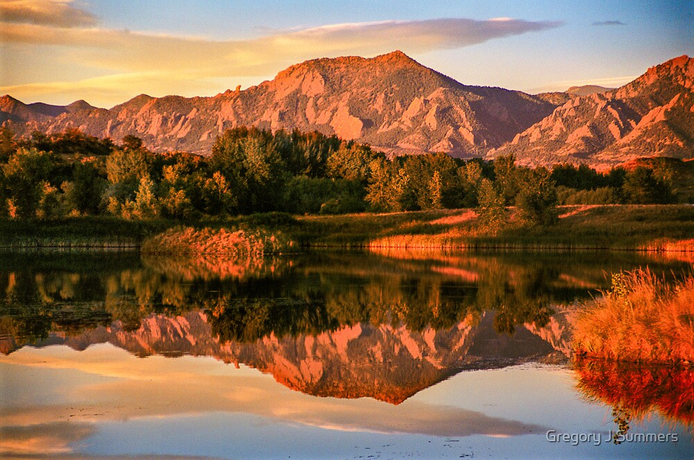 Reflections At Sawhill by Gregory J Summers
