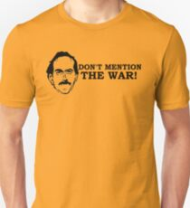 Fawlty Towers - Don't mention the war. BASIL T-Shirt