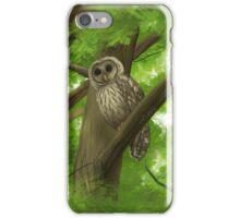 Silent Watcher iPhone Case/Skin