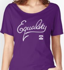 Equality - White Women's Relaxed Fit T-Shirt