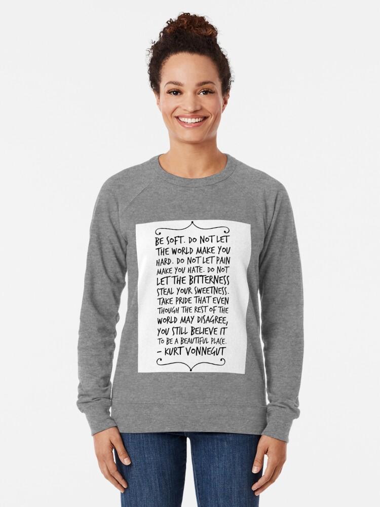 Alternative Ansicht von sei sanft Leichter Pullover