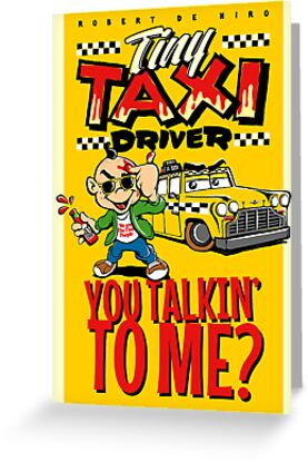 Tiny Taxi Driver by butcherbilly
