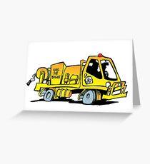 Rural Fire Brigade truck (Queensland) Greeting Card