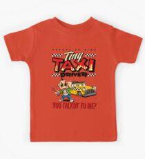 Tiny Taxi Driver Kids Tee
