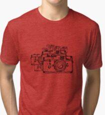 Leica M3 to the Eighth Tri-blend T-Shirt