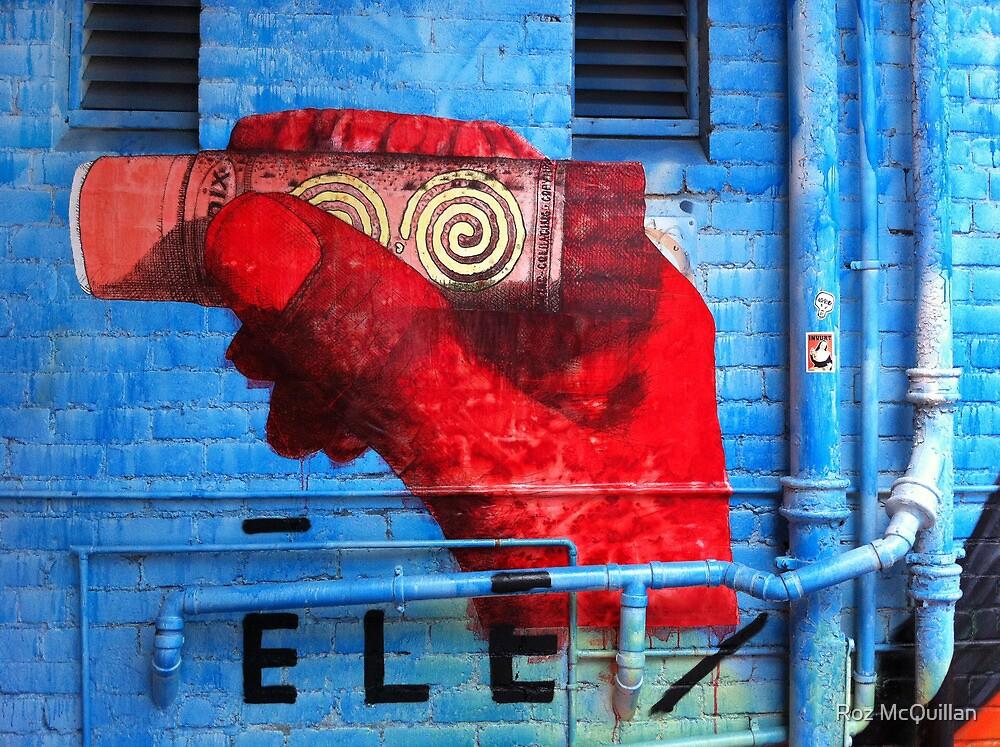 Windsor Graffiti by Roz McQuillan