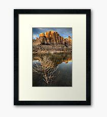 West Branch Framed Print