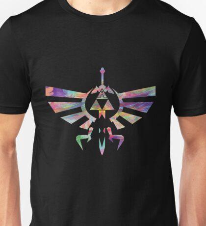 The Legend of Zelda - Hyrule Crest + Master Sword // Water Color Edition Unisex T-Shirt