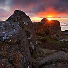 Sunrise from Mount Wellington #10 by Chris Cobern