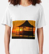 Glenelg Sunset Slim Fit T-Shirt
