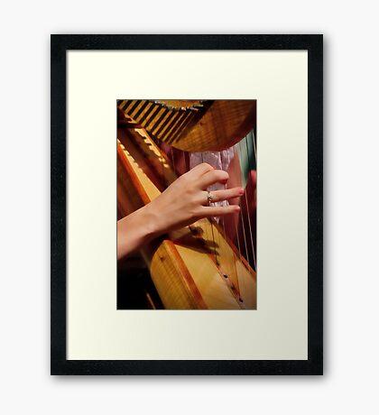 """""""Celtic Strings"""" Framed Print"""