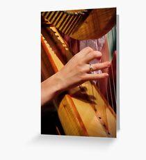 """Celtic Strings"" Greeting Card"