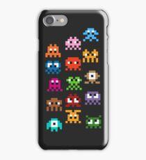 Pixel Art Monsters iPhone Case/Skin