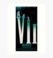 Final Fantasy VII: The Sacrifice Of Cloud POSTER Art Print