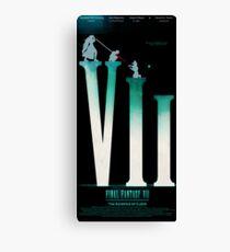 Final Fantasy VII: The Sacrifice Of Cloud POSTER Canvas Print