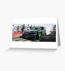 Burnout Tuner GP Greeting Card