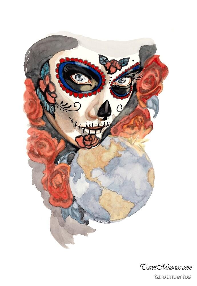 The World - El Mundo by tarotmuertos
