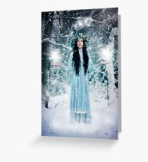 Welcoming the Winter Solstice Greeting Card